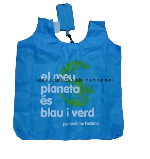 Promotional Vest Polyester Shopping Bag pictures & photos