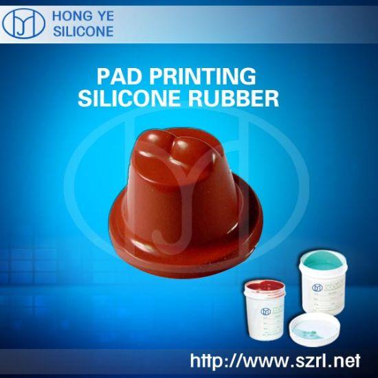China Liquid Pad Printing Silicone Rubber Hot Sale - China