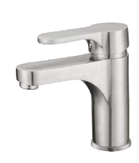 Single Lever Bathroom/Bath SUS 304 Stainless Steel Basin Water Mixer