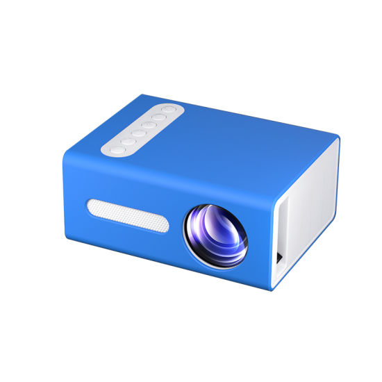 Cheapest 2020 Mini Short Throw Projector T300 LED Source HD Portable Home Projector