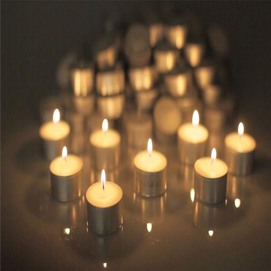 Pure Wax 14G Color Tea Light Candle