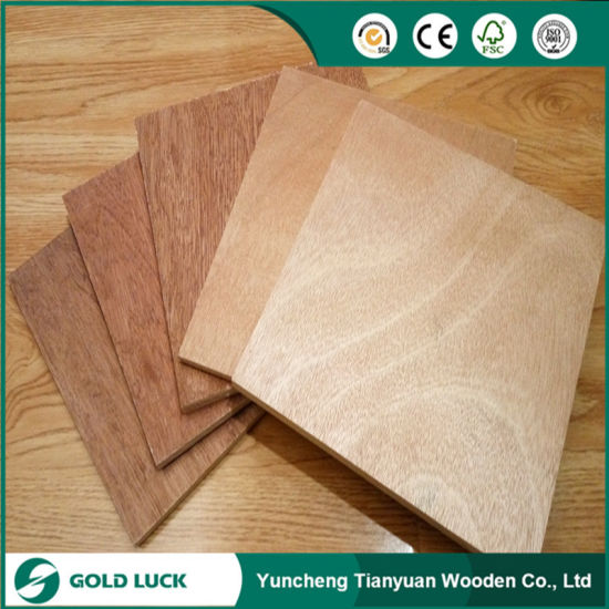 18mm Melamine Glue Waterproof Commercial Plywood pictures & photos