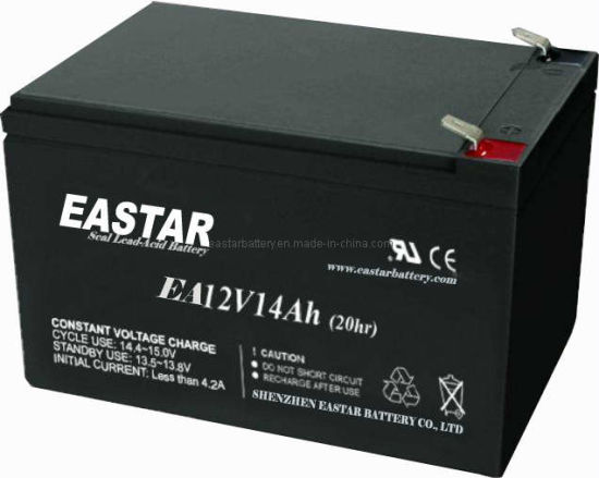 Lead Acid Battery / Storage Battery 12V14ah (EA12-14) pictures & photos