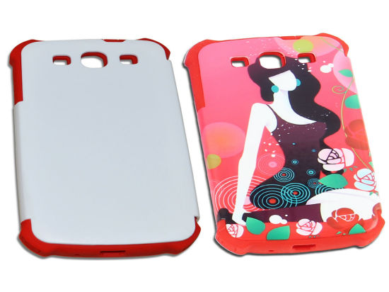Wholesale Silicon Customed Blank 2D 3D Sublimation Phone Case for iPhone 7 pictures & photos