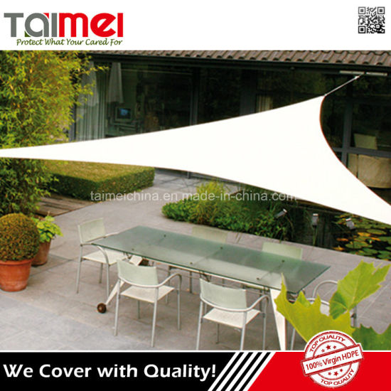 Best Selling Blocks 90% Harmful UV Rays Outdoor Shade Sail Awnings pictures & photos