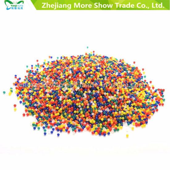 China Water Beads Soil Crystal Bio Gel Ball Wedding Vase Filler