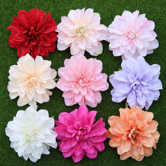 1 Bouquet 7 Heads Artificial Fake Sunflowers Flower Floral DIY Home Garden Decor