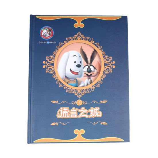 Stories for Children 3D Cover Hardcover Book Printing Service