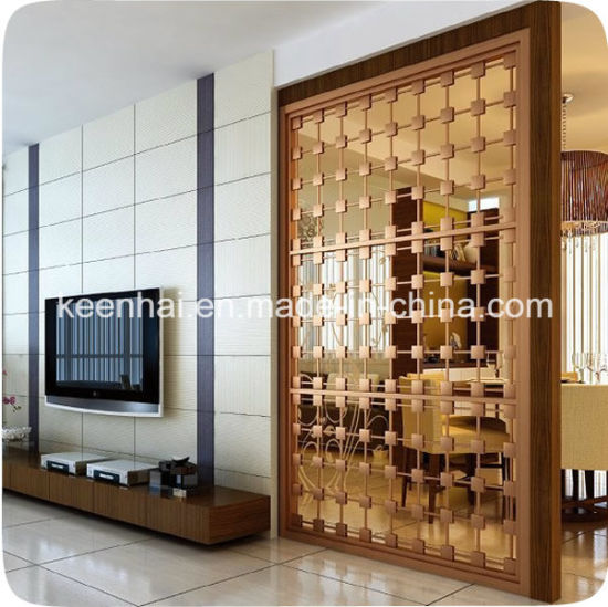 China Customed Design Decorative Stainless Steel Privacy Screens ...