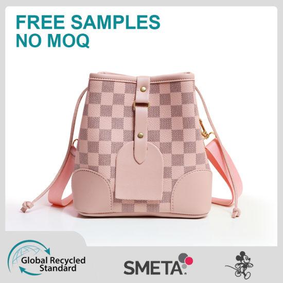 Classic Printed Spliced Bucket Bag Designer Bag Handbag