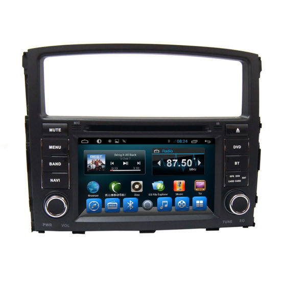 Double DIN DVD Player for Car Mitsubishi Pajero pictures & photos