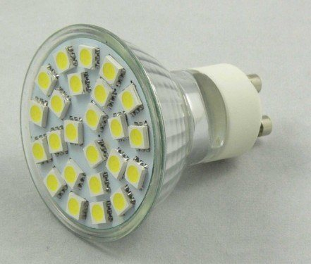 5050 24PCS 3.5W GU10 AC85-265V/12V LED Spotlight pictures & photos