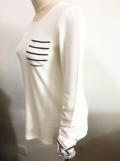 Women Fashion Garment Loose Oversize T Shirt Fashion Clothes pictures & photos