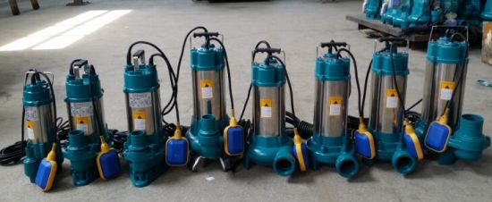 V Series Sewage / Dirty Water Submersible Water Pump (VD750F/VD1300F/VD1500F) pictures & photos