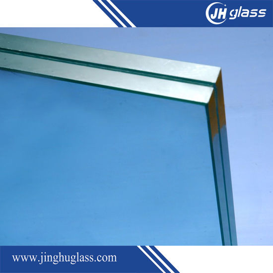 5.38mm Tempered Green Laminated Glass pictures & photos