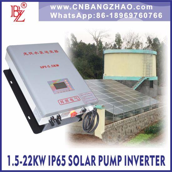 5HP AC Pump Motor MPPT Inverter Integrate Frequency Drive