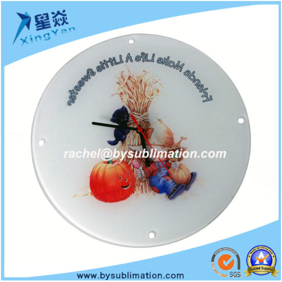 Glass Round Photo Frame for Wholesale