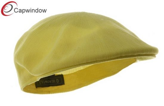 Yellow Knitted Polyester IVY Cap