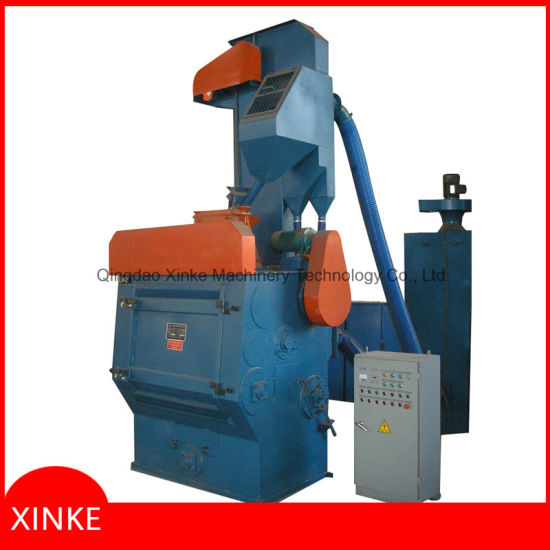 Batch Type Tumblast Shot Blasting Machine pictures & photos