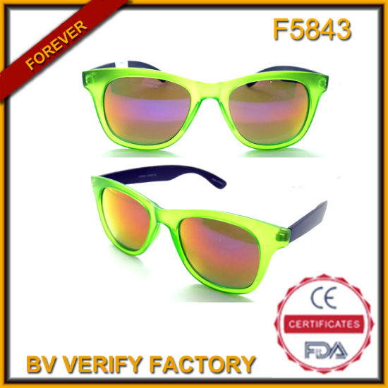 4a852b38322 China F5843 Neon Sunglasses Mirror Lens Free Samples - China Neon ...