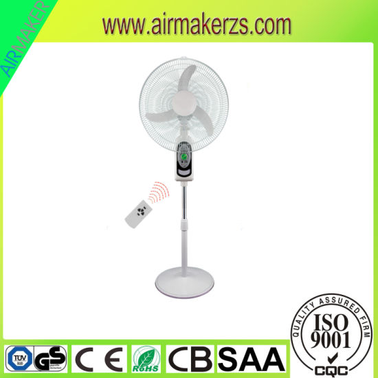 2017new Design Home&Office Use Rechargeable Stand Fan pictures & photos