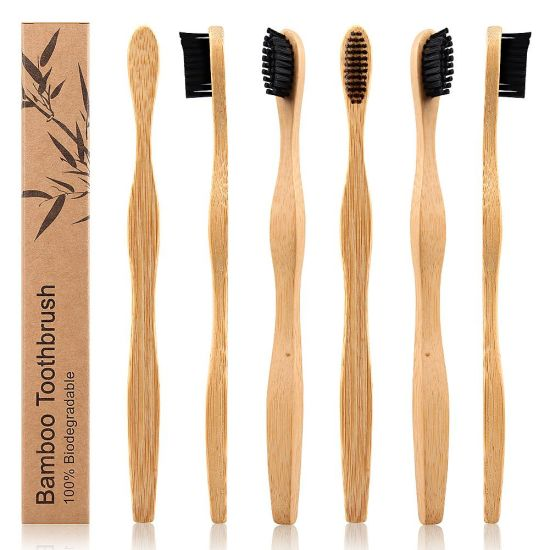 Wholesale Biodegradable Bamboo Toothbrush Hotel Toothbrush