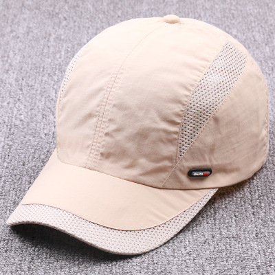 Custom Adult Visor Cap Summer Hat High Quality 6 Panels Sport Hat Fashion Mesh Baseball Cap pictures & photos