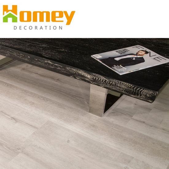 China High Quality Look Like Wood Plastic Laminate Spc Vinyl Mterial