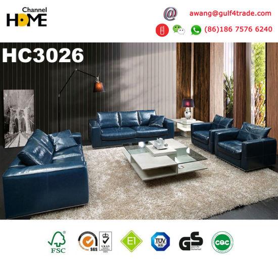 china italian european design genuine leather sofa hc3026 china