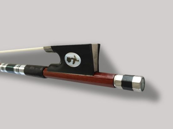 Prossional Brazilwood Violin Bow with Best Mongolia Horse Tail and Best Elastic Size 4/4 (4/4)