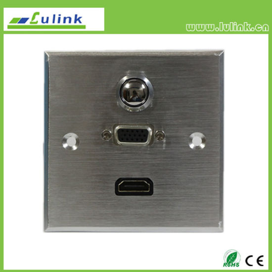 China Tabletop Connection Box For Conference Table Multimedia - Conference table connection box