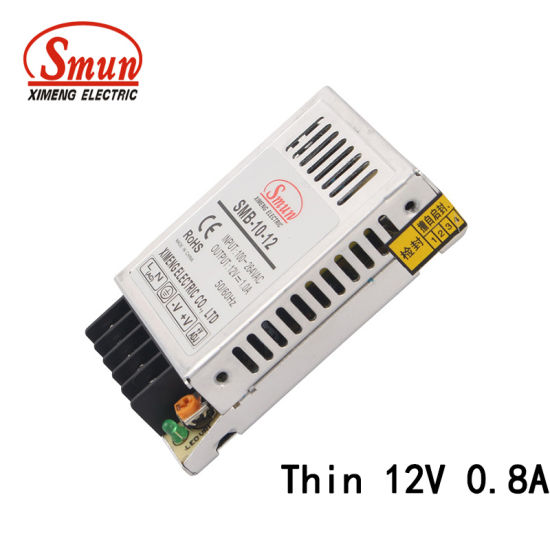 China SMB-10-12 Ultra Thin Type 10W 12V 0 8A AC-DC Static