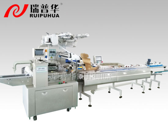 Automatic Cake/Cookies/Bread Machine for Feeding and Packing pictures & photos