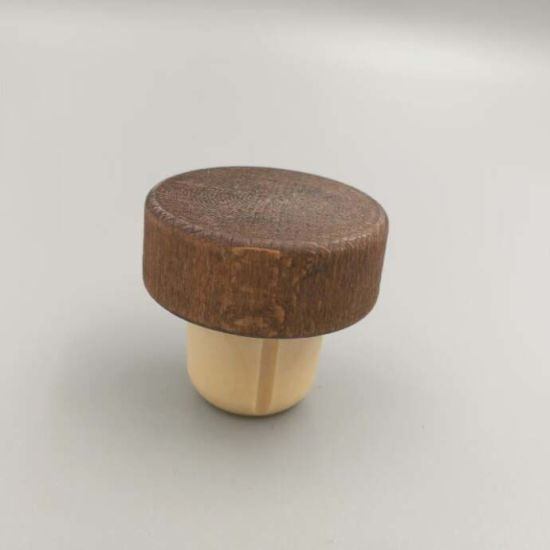 China Hot Selling Wooden Cap Synthetic Cork 1f824b51b62d