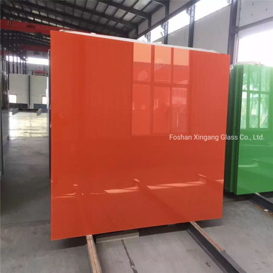 China Wholesale Solid Colors Back Painted Glass Lacquered Glass