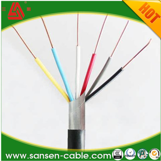 China 2 3 4 Core Kvv Kvv22 Shielded Twisted Pair Wire Auto Control ...