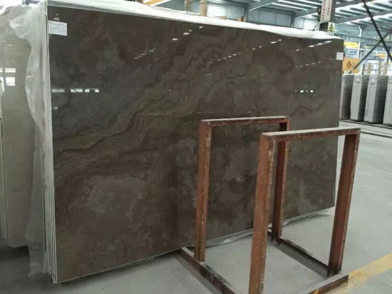 Good Quality Brown Table Top Coffee Wood Grain Marble pictures & photos