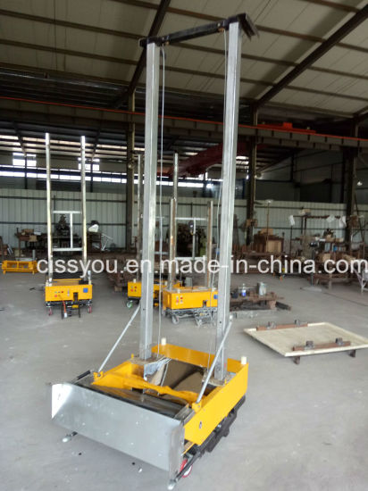Automatic Mortar Wall Plaster Plastering Machine pictures & photos