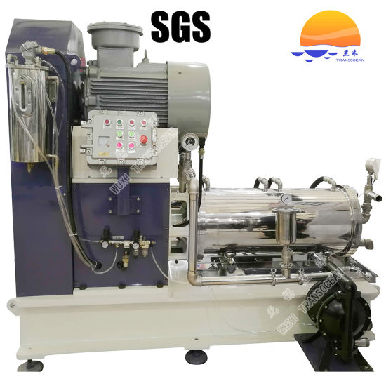 Disc Type Horizontal Bead Mill for Wet Grinding pictures & photos