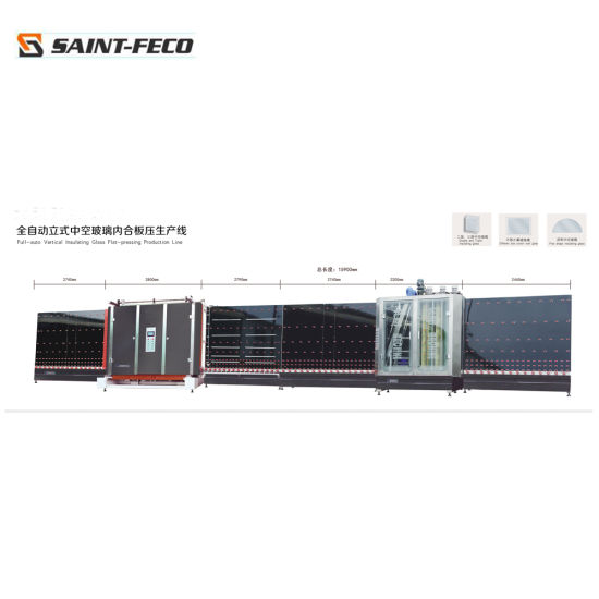 CNC Automatic Insulating Glass Processing Machines for Sales/Double Glass Processing Machine