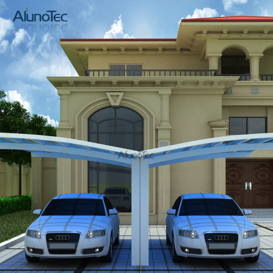 China y shape polycarbonate roof carport for car parking for Garage class auto