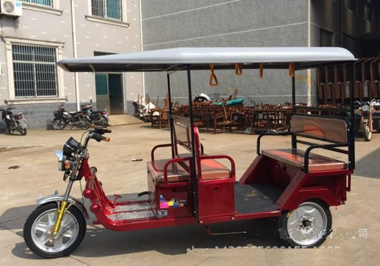 India Popular Electric Tricycle Rickshaw 1000W 800W (HDT1000-18) pictures & photos