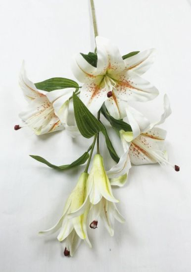Natural Touch Artificial Flowers of Tiger Lily pictures & photos