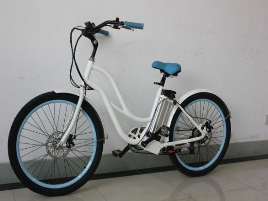 36V 250W Australian Compliant Beach Cruiser Electric Bikes for Female pictures & photos