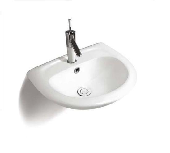 (No. P03) Samll Lavabo, Economical Ceramic Sink, Wall Hung Washbasin