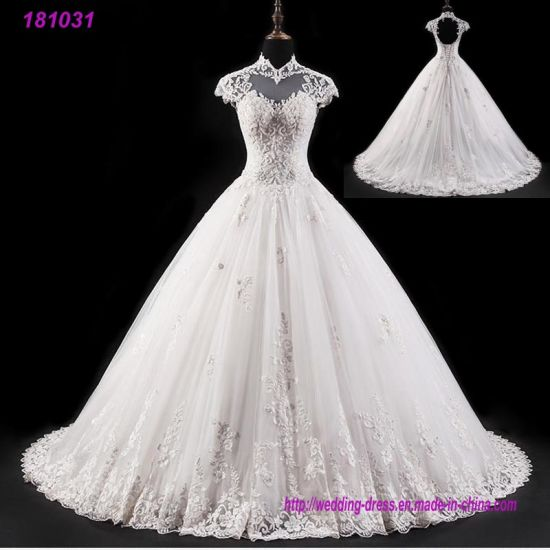 3ff3f61a580 Sexy Beach Country Garden Bridal Gowns Lace Top Beaded Wedding Dress 2018