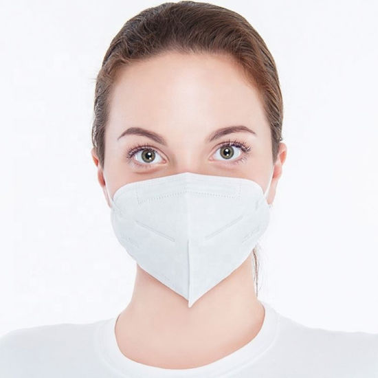 Breath Protection Dust 4 Ply Non Woven Fabric Disposable in Stock Breathable Face Mask