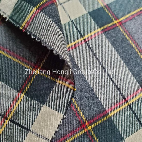 New Design Yarn Dyed Poly Rayon Checks Fabric for Garment