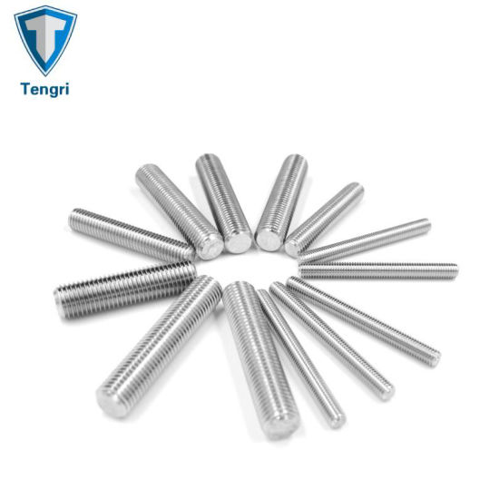 Manufacture High Quality Stud Bolt Threaded Stainless Steel Rod