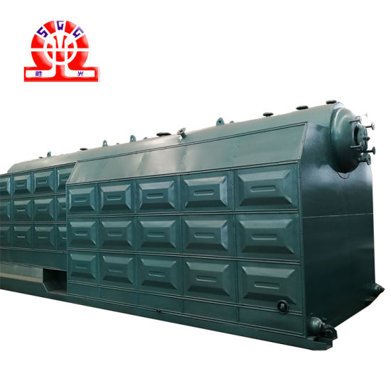 China Double Drum Fire Tube Chain-Grate Coal Steam Boiler ...